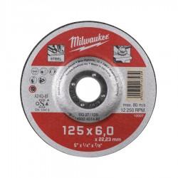 Discuri abrazive pentru polizat metal Milwaukee Contractor