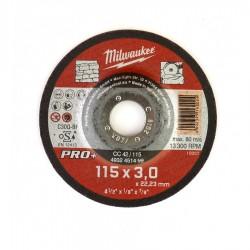 Discuri abrazive pentru taiat piatra Milwaukee PRO+